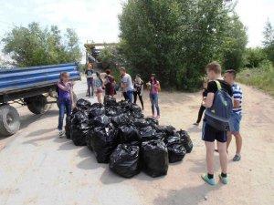 136 мешков мусора было убрано с пляжей Искитима