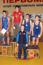 Медали борцов из Искитимского района