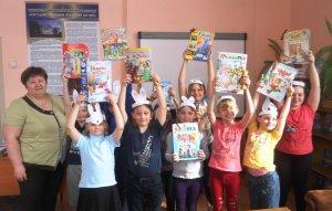 Праздник детской книги для маленьких искитимцев