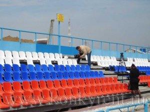 В Искитиме вандалы разгромили трибуну на стадионе с/к «Заря»