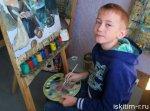 Юный художник из Линево стал обладателем серебряной медали на XV молодежных Дельфийских играх