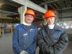 В р.п.Линево на электродном заводе проходит Чемпионат рабочих профессий