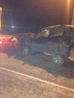 КамАЗ протаранил три машины на искитимской трассе