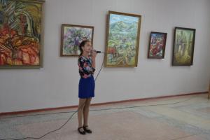 В искитимском музее открылась выставка работ алтайских студентов и преподавателей