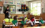Госавтоинспекторы Новосибирской области проводят мероприятия, посвященные Всемирному Дню ребенка