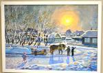 «Зима на пороге» в картинах и красках