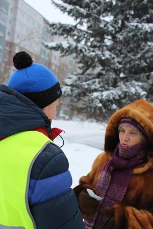 Госавтоинспекторы Искитимского района поздравили женщин с Днем матери