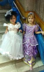 Дед Мороз и Снегурочка поздравили детей сотрудников органов внутренних дел