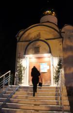 """Рождественская ночь в храме в честь иконы Божией Матери """"Владимирская"""" г. Искитим"""