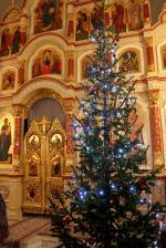"""Рождественская ночь в храме в честь иконы Божией Матери """"Неупиваемая Чаша"""" г. Искитим"""