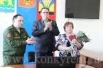 В Искитиме семье фронтовика Алексея Колотилина вручили боевые награды героя