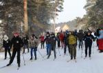 В Искитиме 500 школьников встали на лыжню «Звездного похода» и игры «Рубеж»