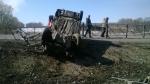 Разбившийся на трассе возле Ложков водитель был лишен водительских прав