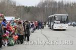 В родительский день до кладбища будут курсировать пять автобусов