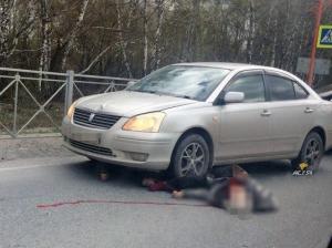 Сбили на пешеходном переходе пожилую женщину