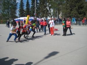 Обладателем Кубка легкоатлетической эстафеты в честь Дня Победы стала школа №11