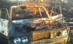 В Искитимском районе у мужчины угнали и сожгли машину