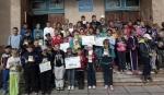 Школьники Искитимского района присоединились к Всероссийской семейной акции «#НаДорогеБезСпешки»