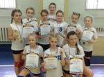 Юные волейболистки из Искитима завоевали серебряные медали