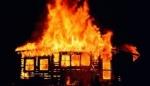 Полностью сгорел дом в п. Листвянский в результате злого умысла