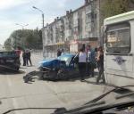 Крупная авария на дороге в Подгорном