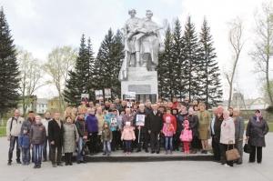 """Работники """"Искитимцемента"""" приняли участие в мероприятиях, посвященных Дню Победы"""