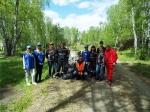 «Сибирский Антрацит» и молодежь Искитимского района очистили Беловский водопад