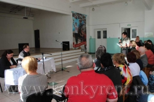 Мэр встретился с жителями Подгорного микрорайона