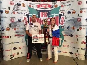 Победила на Первенстве Мира спортсменка из Линево