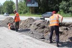 В Искитиме начался ремонт дороги на участке Южного микрорайона