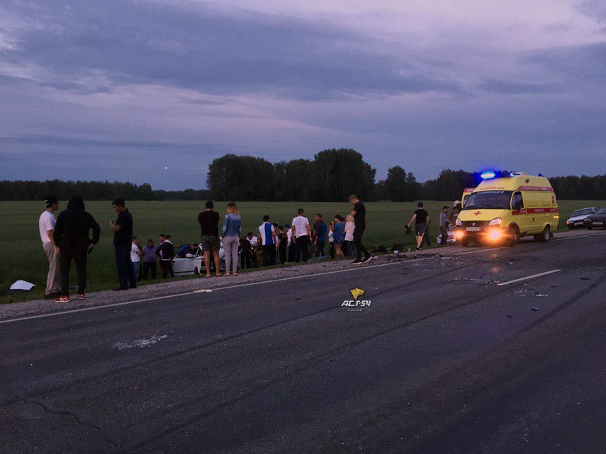 Вылетевший навстречку Фольксваген устроил смертельную трагедию натрассе вНСО