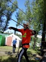Линевские туристы приняли участие в юбилейном паратурслете
