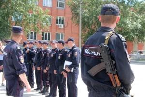 Искитимские полицейские провели смотр сил и средств