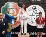 Спортсменка из Керамкомбината стала чемпионкой Европы
