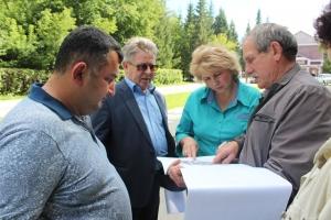 Комфортная городская среда: представители области осмотрели объекты в Искитиме
