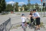 В Искитиме полицейские призвали юных пешеходов и велосипедистов соблюдать ПДД