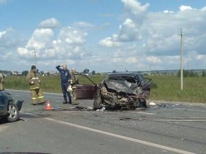 В ДТП под Евсино пострадали два водителя и беременная девушка