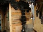 Пожар в Ургуне тушили двумя пожарными машинами