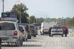 В Искитиме микроавтобус сбил женщину на пешеходном переходе
