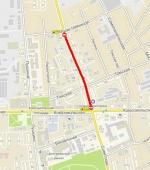 В Искитиме с 7 по 10 сентября закрывается участок дороги на ул.Советской