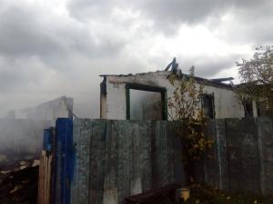 Погиб мужчина на пожаре в Евсино