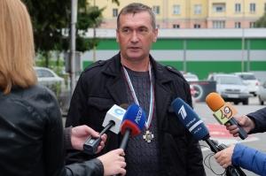 Руководство Новосибирской Госавтоинспекции выразило благодарность жителю р.п. Линево Владимиру Олину