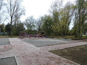 В парке им. Коротеева установлена новая площадка ГТО – третья по счету в городе