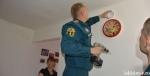 В Искитимском районе устанавливаются автономные пожарные извещатели