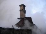 Пожар в Мичуринском оставил людей без крыши над головой