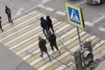 Увеличен штраф за непропуск пешеходов и велосипедистов на зебре
