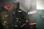 Для тушения пожара в Искитиме понадобилось три пожарные машины