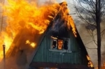 В Искитиме сгорела баня