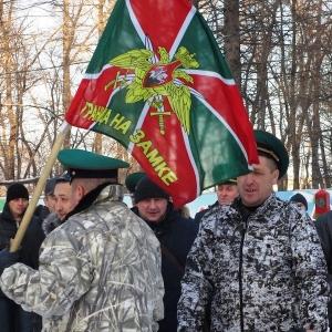 Искитимские ветераны-пограничники почтили память Ивана Коротеева