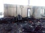 Мужчина обгорел наполовину в результате пожара в Таскаево